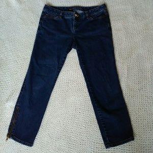 Michael Kors petite skinny crop jean